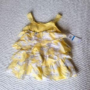 Calvin Klein 2 piece tiered dress 24 Months